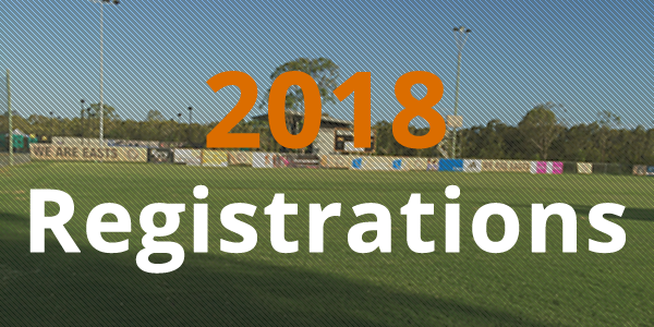 2018 registration Easts FC