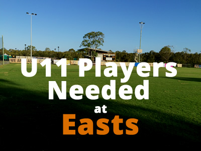 U11 Football Easts Brisbane