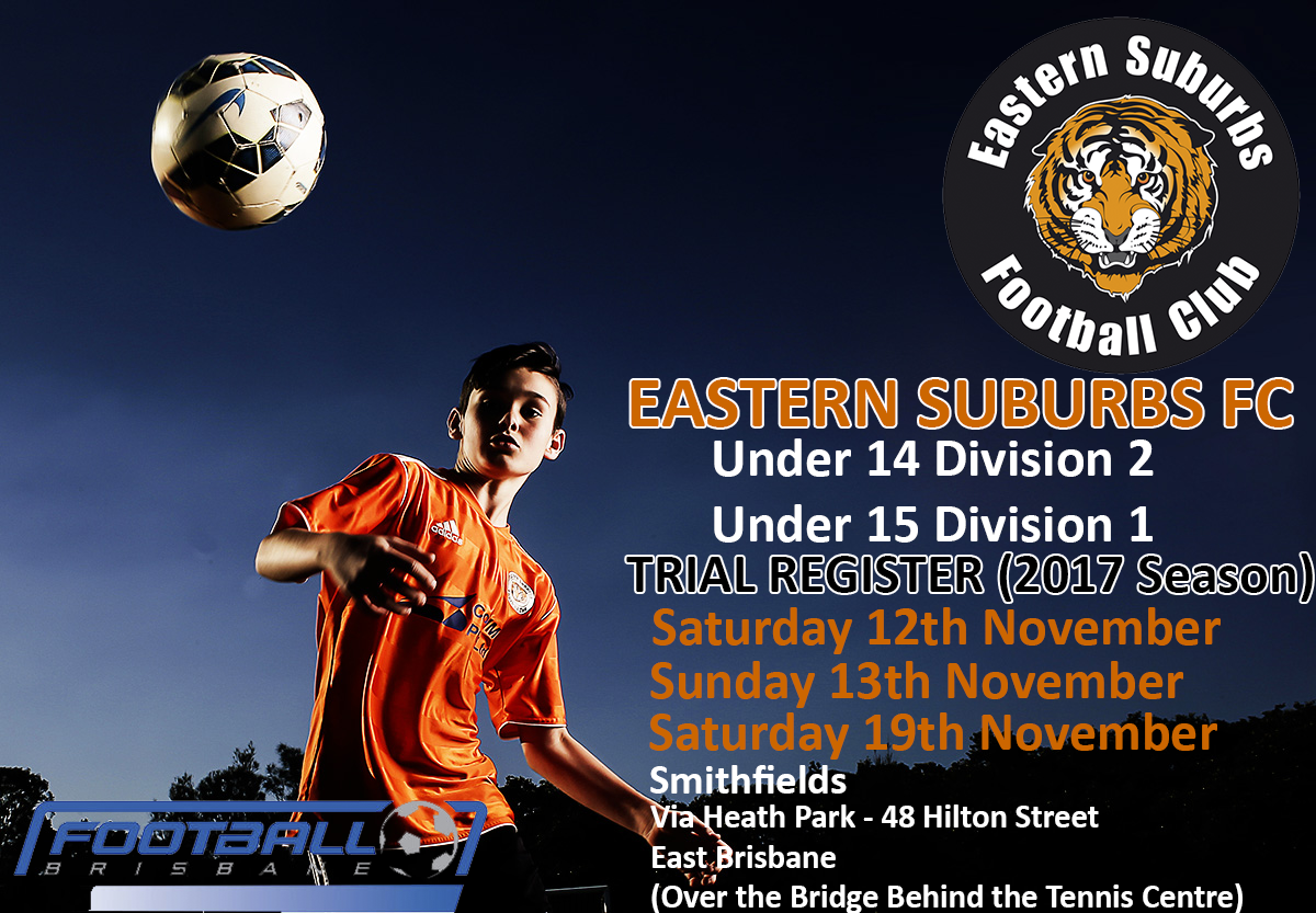 Under 14 and 15 Divisional Trials